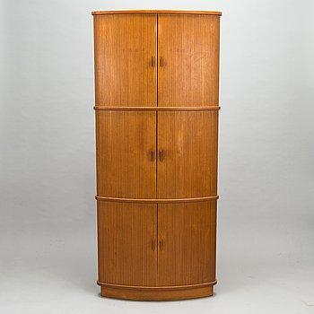 A late 20th century corner cabinet.