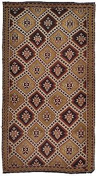Matta, Turkisk kelim, ca 245 x 130 cm.