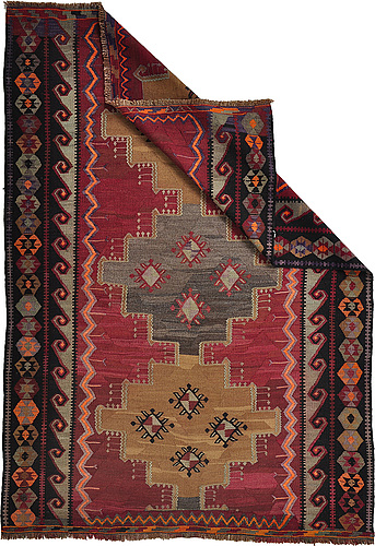 A rug,  turkish kilim, ca 251 x 174 cm.