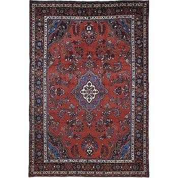 A carpet, Hamadan, ca 311 x 210 cm.