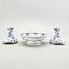 Servis  27 dlr musselmalet helblonde royal copenhagen danmark 1900-tal.