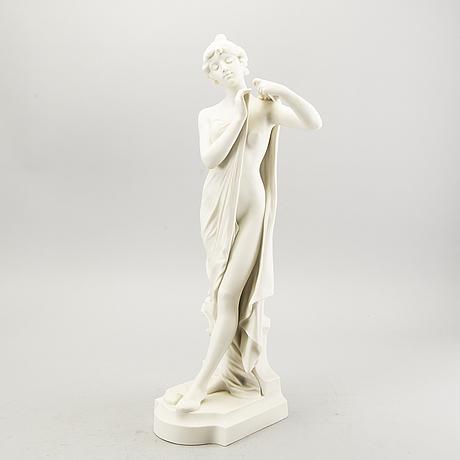 A gustavsberg parian figurin dated 1904.