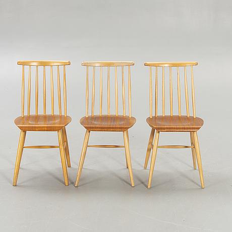 Chairs, 5 pcs, nesto, nässjö.