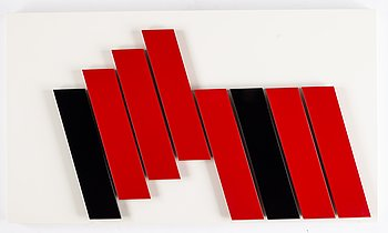 Lars-Erik Falk, relief, signed and dated 1990.