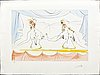 Salvador dalí, color lithograph, signed, numbered 25/150.