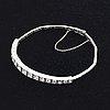 Bracelet 18k whitegold with brilliant-cut diamonds approx 2 ct.