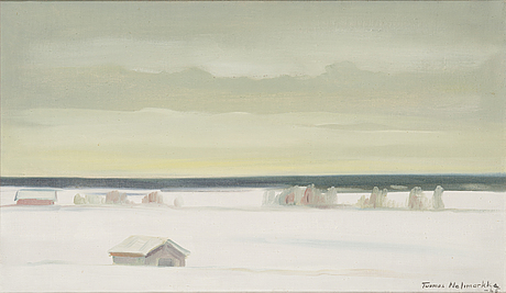 Tuomas nelimarkka, oil on canvas, signed and dated -65.