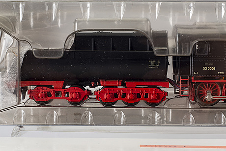 A märklin h0 steam locomotive.