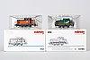 4 märklin h0 locomotives.