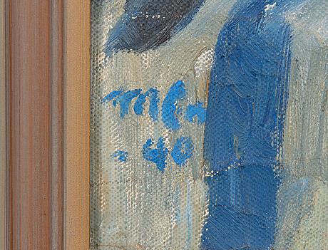 Marcus collin, olja på duk, signerad och daterad-40.