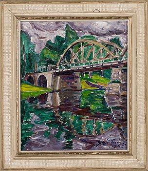 Yrjö Saarinen, The bridge.