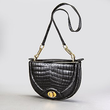 A Celine leather bag.