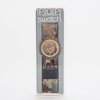 Swatch, Pop, Putti, by Vivienne Westwood, wristwatch 46 mm.