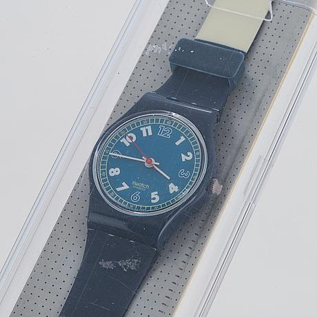 Swatch, for sail, wristwatch, 25 mm.