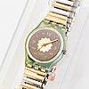 Swatch, sevruga, wristwatch, 25 mm.