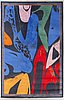 """A andy warhol after carpet """"diamon dust shoes"""" ege aminster denmark ca 335 x 250 cm."""