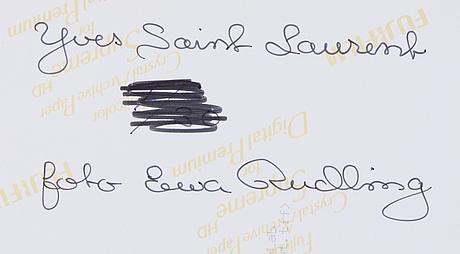 Ewa rudling, photograph signed.