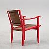 An armchair by axel larsson, svenskta möbelfabrikerna bådafors, model designed 1936.