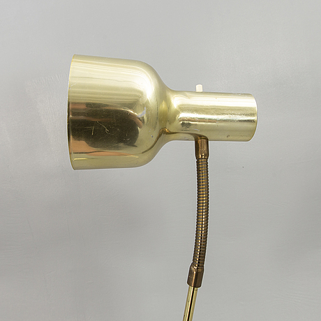 Wall lamps, a pair, möllers armatur eskilstuna, 1960s.