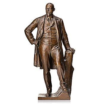 Reinhold Felderhoff, sculpture. Signed. Bronze. Height 46 cm.