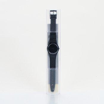 Swatch, After Dark, wristwatch, 34 mm.