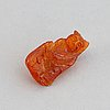A group of amber objects, china, 20th century. (14 small pieces).
