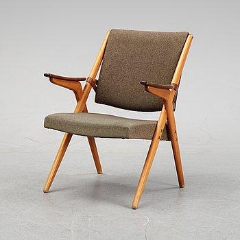 A Scandinavian armchair, 1950's.
