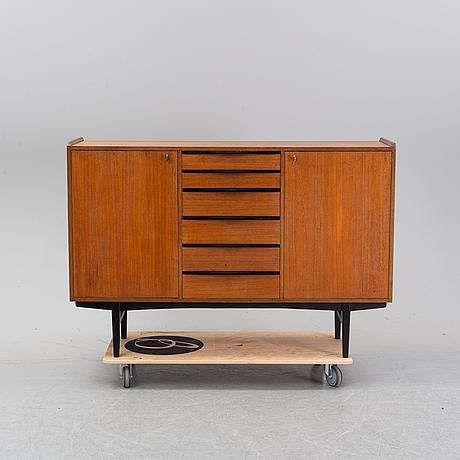 A 1960's teak sideboard, ab carlsson & reicke.