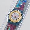 Swatch, palco, wristwatch, 34 mm.
