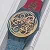 Swatch, stucchi, wristwatch, 34 mm.