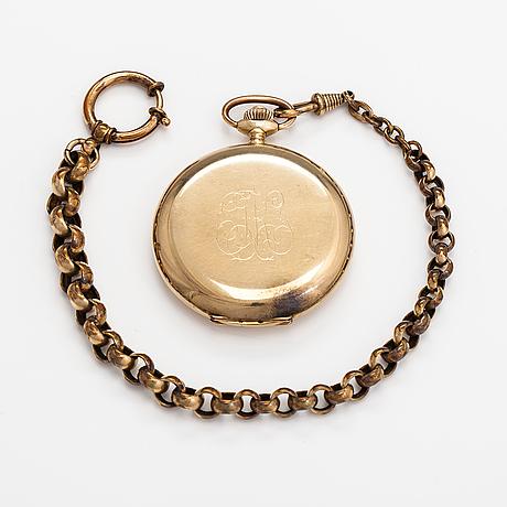 Tissot, pocket watch, 45 mm.