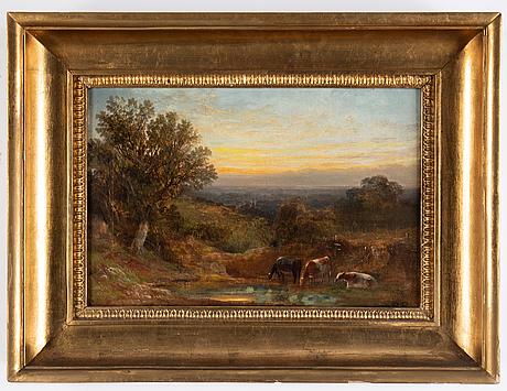 Alexander frederick rolfe, oil on canvas, signed.