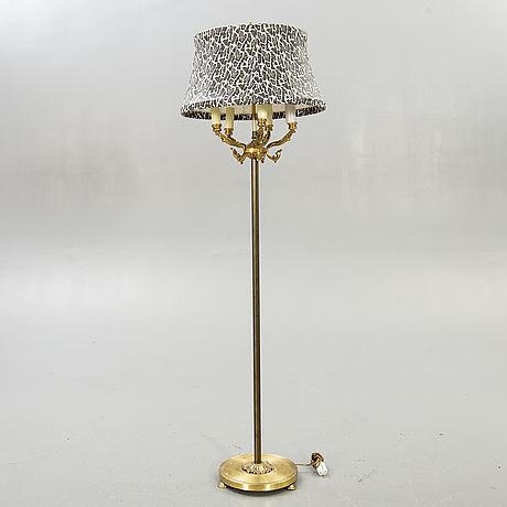 Floor lamp, mid-20th century.
