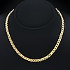 Necklace 18k gold, 28,6 g, approx 42 x 0,5 cm.