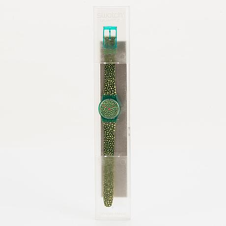 Swatch, south moulton, wristwatch, 25 mm.