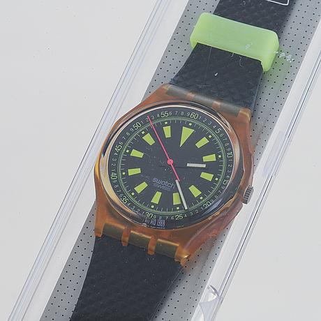 Swatch, bmx, wristwatch, 34 mm.