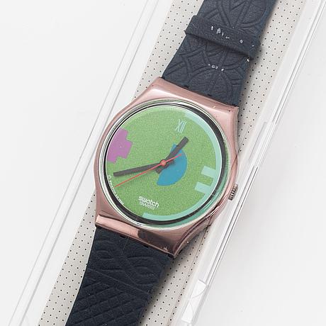 Swatch, johnny guitar, wristwatch, 34 mm.
