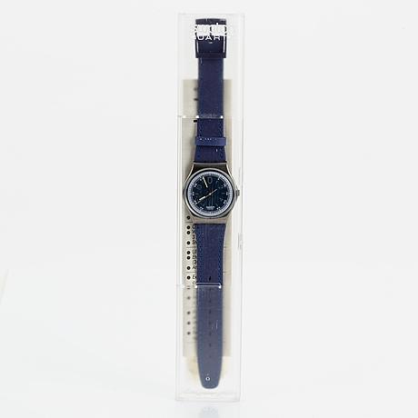 Swatch, be bop, wristwatch, 34 mm.