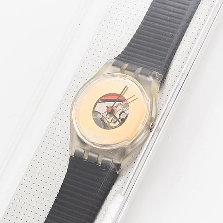 Swatch, midas touch, wristwatch, 25 mm.