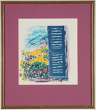 Lennart Jirlow, färglitografi, signerad och numrerad 92/300.