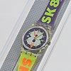 Swatch, snow collage, armbandsur, 25 mm.