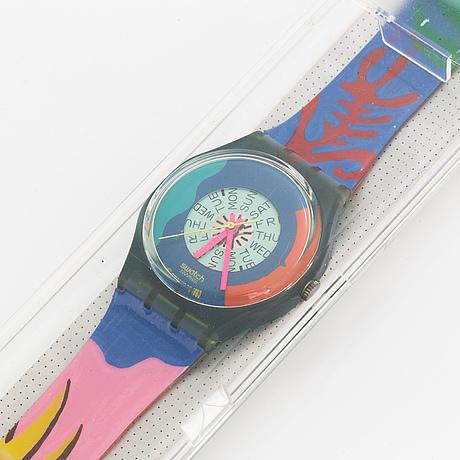 Swatch, passion flower, armbandsur, 34 mm.