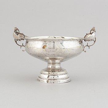 A swedish silver brandy bowl, mark of Lars Löfgren, Hudiksvall (1797-1853).