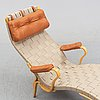 A 'pernilla 3' lounge chair by bruno mathsson for firma karl mathsson dated 1967.