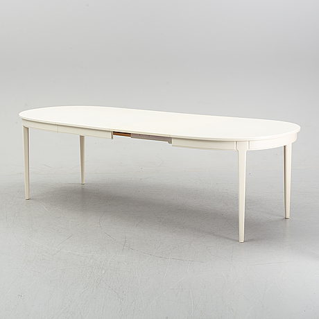 Carl malmsten, a seven-piece 'herrgården' dining suite, bodafors, 1960.