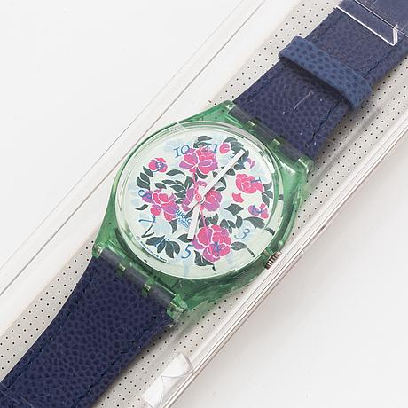 Swatch, mazzolino, wristwatch, 34 mm.