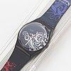 Swatch, tristan, wristwatch, 34 mm.