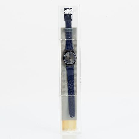 Swatch, mason, wristwatch, 25 mm.