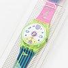 Swatch, polar ice, wristwatch, 25 mm.