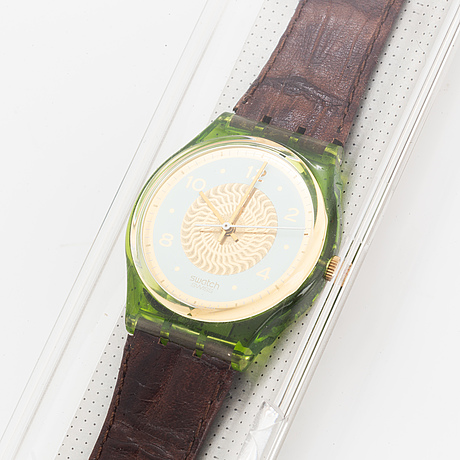 Swatch, galleria, wristwatch, 34 mm.